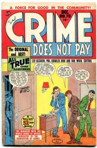 CRIME DOES NOT PAY #70-CHARLES BIRO COVER-TUSKA FN/VF