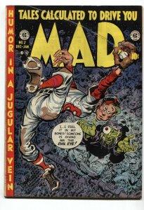 MAD #2-1953-EC COMICS-HARVEY KURTZMAN-WALLY WOOD-VG+