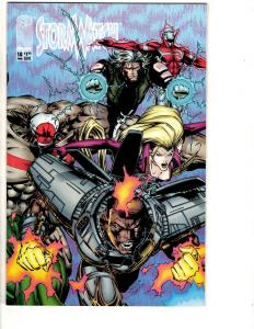 9 Image Comics Stormwatch # 10 11 12 13 14 25 + Sourcebook 1 + 1 + Stupid 1 CR30