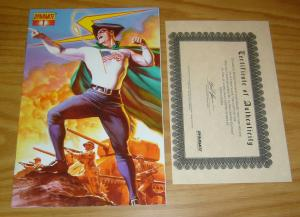 Project Superpowers #1 VF/NM ultra limited edition w/COA (only 1,000) alex ross