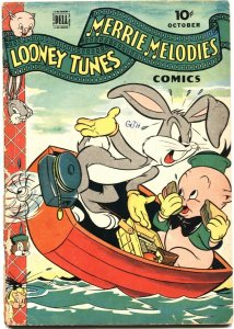 LOONEY TUNES AND MERRIE MELODIES #48-1945-BUGS BUNNY--PORKY PIG--DELL