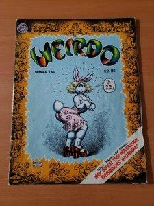 Weirdo #2 ~ FINE FN ~ 1981 Last Gasp Underground R Crumb