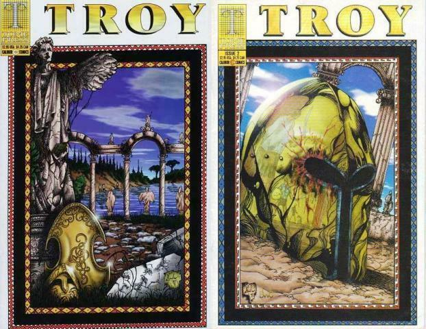 TROY (1997 TOME/CALIBER) 1-2  Reed & Xavier  COMPLETE!