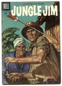 Jungle Jim #9 1956- Dell silver age comic VG