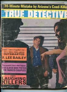 TRUE DETECTIVE-AUG. 1967-DUAL HOMICIDE-SLAYER-KILLERS-FACELESS-TRYST-MUR FR/G