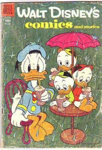 Comics and Stories, Walt Disney's #179 (Aug-55) GD Affordable-Grade Donald Du...