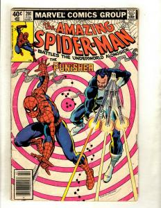 Amazing Spider-Man # 201 GD Marvel Comic Book Punisher Appearance HY1