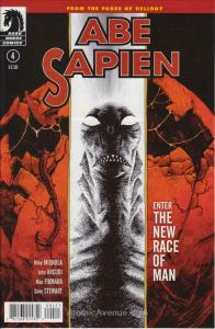 Abe Sapien: Dark and Terrible #4 FN; Dark Horse | save on shipping - details ins