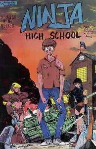 Ninja High School #3 FN; Malibu | save on shipping - details inside