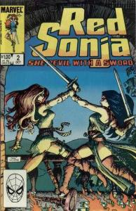 Red Sonja (Aug 1983 series) #2, VF+ (Stock photo)