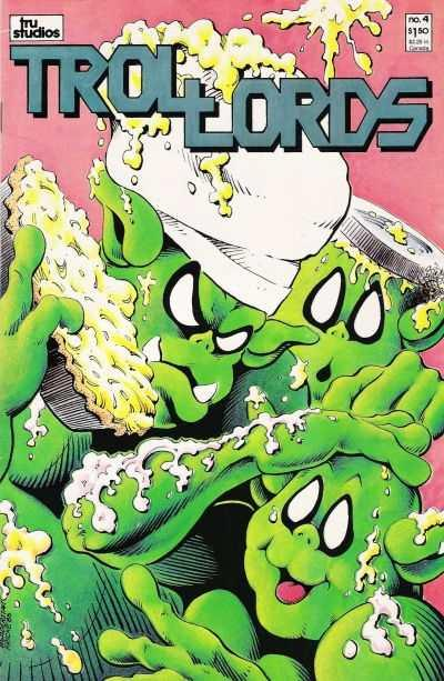 Trollords (1986 series) #4, VF+ (Stock photo)
