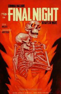 Criminal Macabre: Final Night—The 30 Days of Night Crossover #4 FN; Dark Horse |