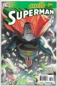 Superman (vol. 2, 2006) #683 VF (New Krypton green 9) Robinson/Guedes