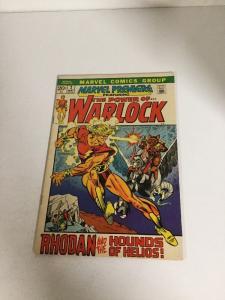 Marvel Premiere 2 Vf Very Fine 8.0 Adam Warlock