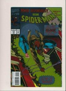Marvel Comics Spider-man #51 Deluxe Edition Gold Foil Flip Book ~ VF+ (HX997)