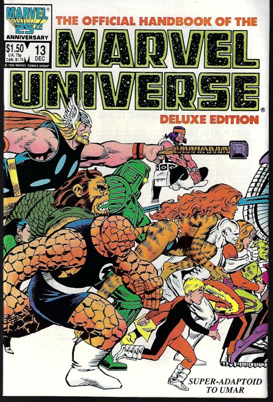 Marvel Universe Deluxe Edition #13