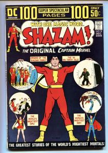 SHAZAM #8-comic book Reprints Marvel Family #1-Black Adam VF-