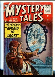 MYSTERY TALES #37 1955-ATLAS-DOUG WILDEY-JOHN ROMITO-BOB POWELL-vg