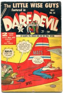 Daredevil #98 1953-Lev Gleason- Charles Biro- Little Wise Guys VG-