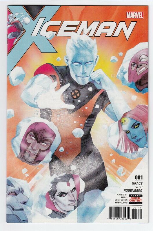 ICEMAN (2017 MARVEL) #1