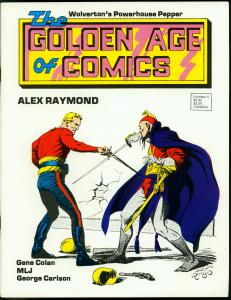Golden Age of Comics Fanzine #5 1983- MLJ- Wolverton- Flash Gordon VF