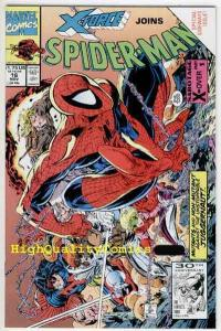 SPIDER-MAN #16, NM+, Todd McFarlane, X-Force, Juggernaut, 1990, more in store