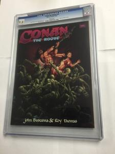 Conan The Rogue Cgc 9.8 White Pages Marvel Graphic Novel Nn Very Rare