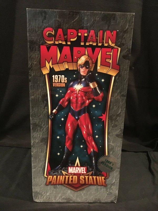 CAPTAIN MARVEL(1960s) Bowen Designs Full-Size, Painted Statue, 2007, #307/1000