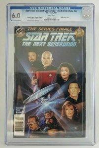 StarTrek: The Next Generation Series Finale - 1994 DC - CGC 6.0 FN~Hillios Cover