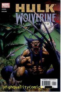 HULK vs WOLVERINE Six Hours #1 2 3 4, Bruce Jones, NM, Claws, venomous snake