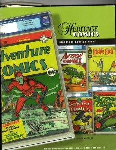 Heritage Comics Signature Auction # 807 Venue Price Guide Comic Books JK12