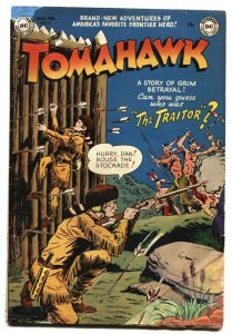 TOMAHAWK #9 DC WESTERN -INDIAN ATTACK- GOLDEN AGE VG restored