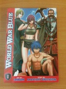 World War Blue Manga #1 ~ VERY FINE - NEAR MINT NM ~ 2010