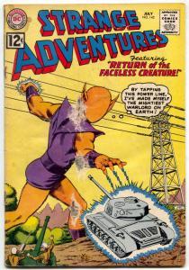 STRANGE ADVENTURES #142 ALIEN HITS POWER LINES 1962 FR/G