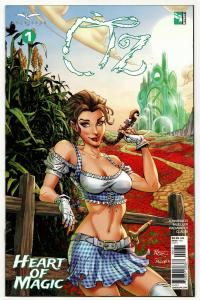 Oz Heart Of Magic #1 Cvr C (Zenescope, 2019) NM