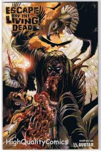ESCAPE of the LIVING DEAD 3, NM, Gore, Avatar, Zombies,2005,more Horror in store