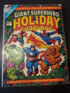GIANT SUPERHERO HOLIDAY GRAB BAG