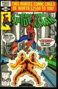 AMAZING SPIDER-MAN #208-1980-MARVEL-fine FN