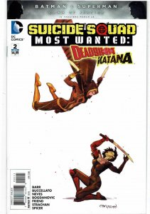 Suicide Squad Most Wanted: Deadshot & Katana #2 NM