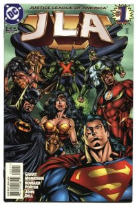 JLA #1 First appearance of HYPERCLAN 1997 comic book NM-
