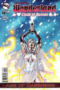 Grimm Fairy Tales presents Wonderland: Clash of Queens #2, NM + (Stock photo)