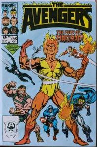 The Avengers #258 (1985) NM