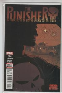 PUNISHER (2016 MARVEL) #4 NM- A61005
