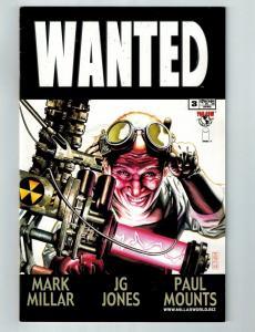 Wanted # 3 VF Image Top Cow Comic Book 1st Print Mark Millar J.G. Jones S95