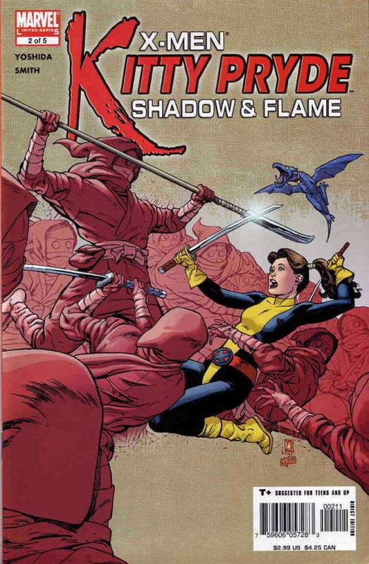 X-Men: Kitty Pryde—Shadow & Flame #2 VF/NM; Marvel | save on shipping - details