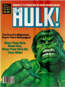 Rampaging Hulk #17 (1977 Magazine) VF