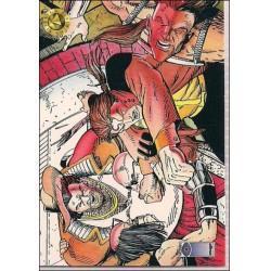 1993 Upper Deck Valiant/Image Deathmate UNDERGROUND RUMBLE #38