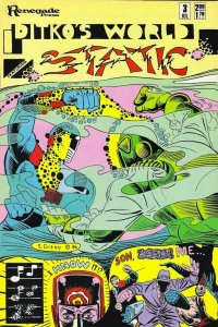 Ditko's World Featuring Static #3, NM- (Stock photo)