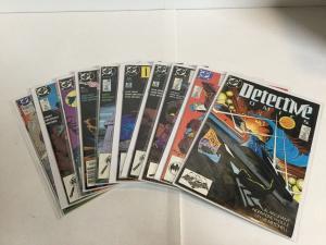 Detective Comics 601 602 603 604 605 606 607 608 Vf 609 610 Rest Nm- DC A13