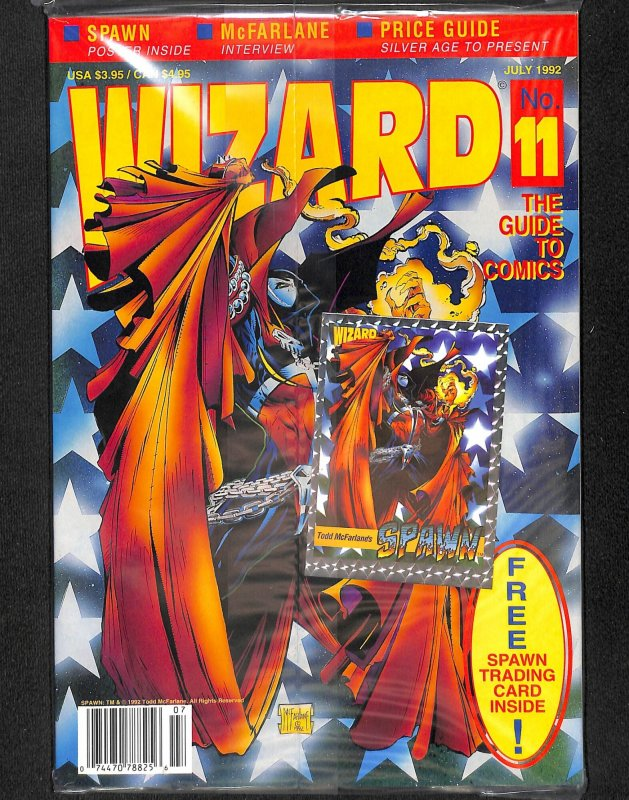 Wizard: The Comics Magazine #11 (1992)